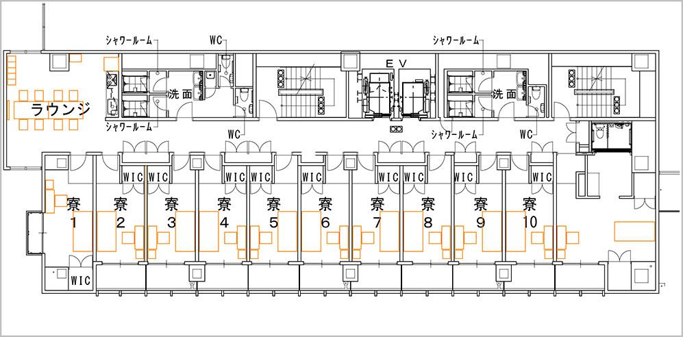 200128_international-student-residence_floor map_2F.jpg