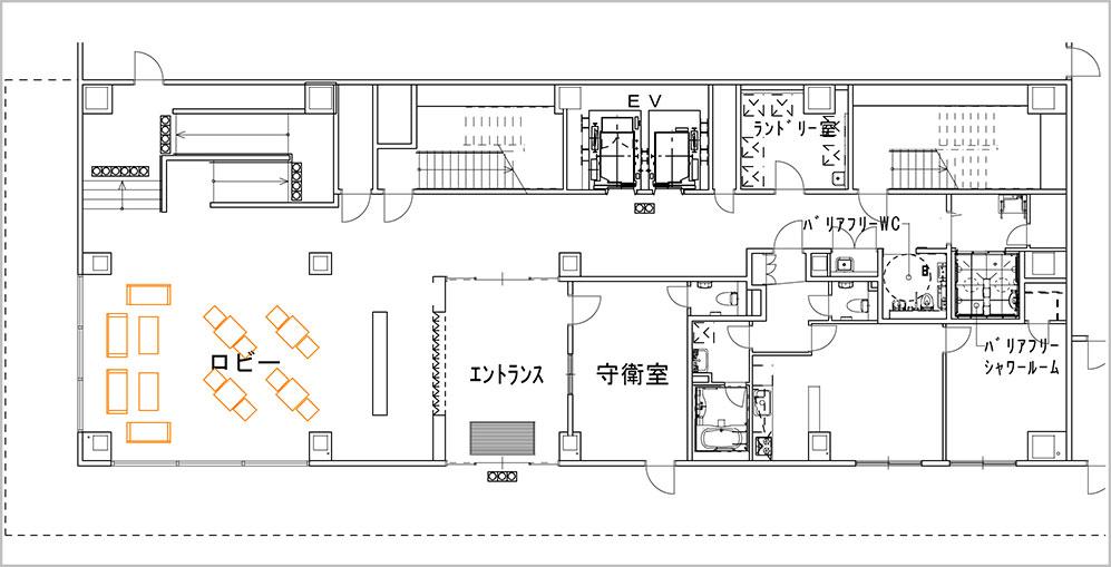 200128_international-student-residence_floor map_1F.jpg