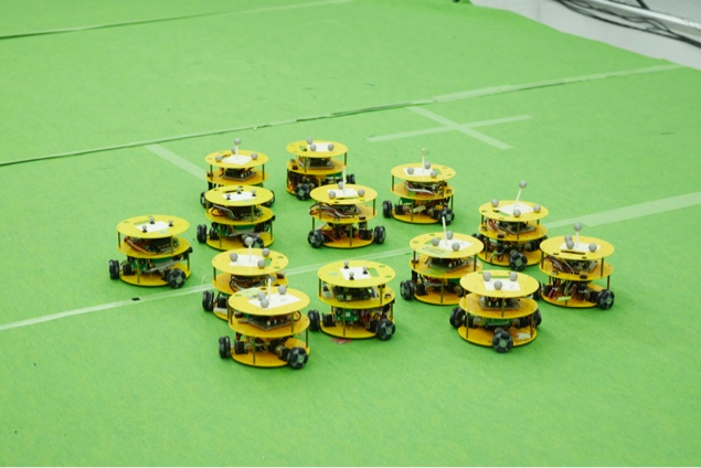 Opening new frontiers through advancements in swarm robotics
